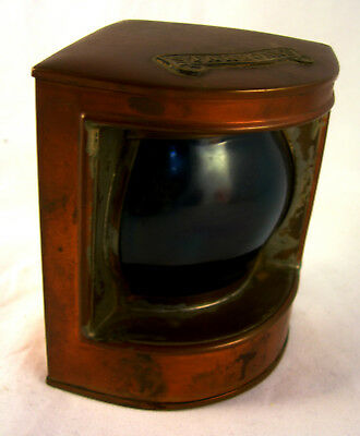 Collectable Vintage Starboard Lamp of a Boat VGC (WH_2221)