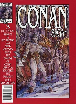 Us Comics Conan Saga #1-97 Full Run Of Sword & Sorcery Magazines On Dvd