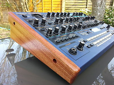 Roland JP8080 Synth Custom Crafted End Panels in Solid Mahogany