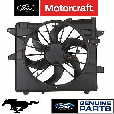 For Ford Mustang 05 14 Radiator Cooling Fan Motor Blade Shroud Embly Genuine