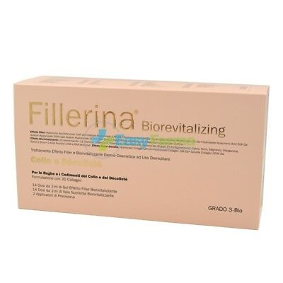 Fillerina Biorevitalizing Collo Decollete Trattamento Completo 3D Collagen Gr 3