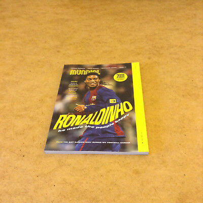 Mundial Issue 12 Ronaldinho Drogba Melchester Rovers + More Football Lifestyle