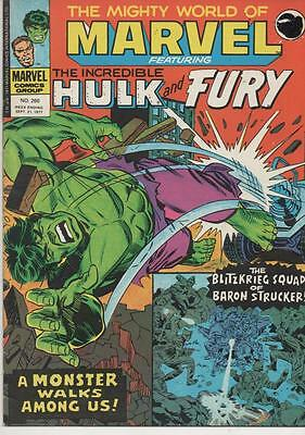 The Mighty World Of Marvel # 260 / 1977