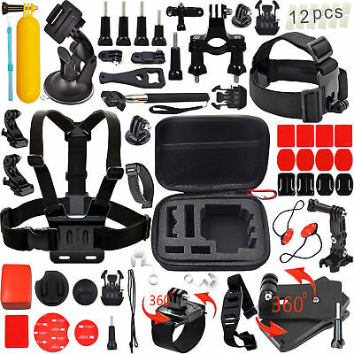 GoPro Accessories Outdoor Sports Bundle Kit for GoPro Hero 5/4/3+/3/2/1 Cameras