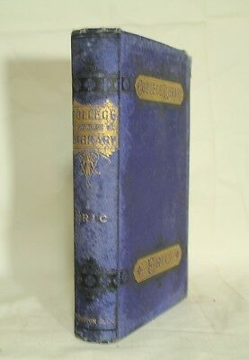 antique old book ERIC a tale of Roslyn School decorative blue