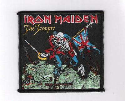 patch embroidered / écusson thermocollant Iron Maiden The Trooper