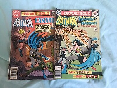 Lot Of 2 Brave And The Bold Comic Books #131 #157