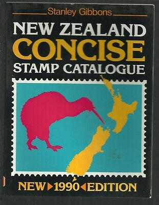 New Zealand Concise Stamp Catalogue 1990