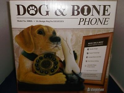 Dog and Bone Phone, Labrador (2 colours available)