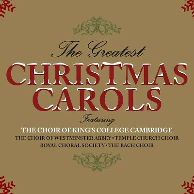 The Greatest Christmas Carols - The Choir Of King's College Cambridge 3CD NEW