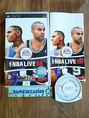 Nba Live 08 Sony Playstation Psp Pal Complet