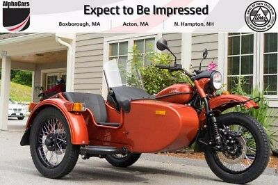 2017 Ural cT Terracotta Custom  Perfect Commuter Brembo Brakes Parking Brake Reverse Financing & Trades