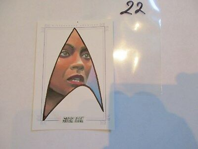 2017 Star Trek Beyond Trading Cards Uhura Color Sketch by Kevin Graham -22