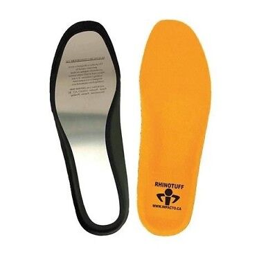 Rhino Tuff Puncture Resistant Work Shoe Insole Rhinoe Size Mens 13-14