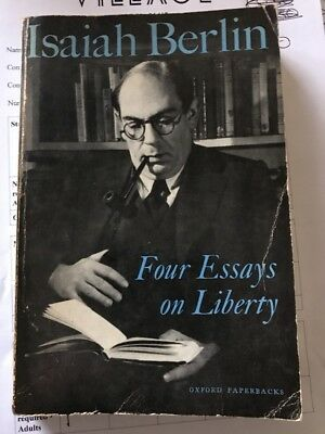 Four Essays on Liberty by Isaiah Berlin (Paperback, 1969)