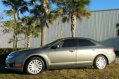 2010 Ford Fusion GORGEOUS FLORIDA 1 OWNER~NEW TIRES/BATTERY~NICE Hybrid Sedan 74821 Miles Sterling Gray Leather 2.5L 39/51 mpg's 11 12 13 camry