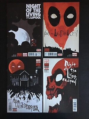 Marvel: Night of the Living Deadpool Set/lot #1-4 NM- [9.2]  1st prints! Bunn