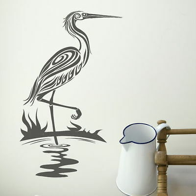 Flamingo Bird Wall Sticker Removable Vinyl Decor Big Wall Transfer Bi23