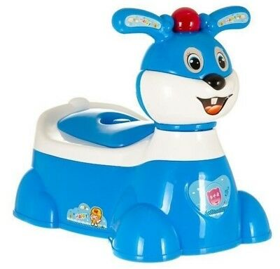 Musical Kids Potty Seat Toddler Baby Child Plastic Potty Toilet Trainer Training