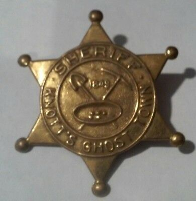 Knott's Berry Farm Ghost Town Sheriff Logo Pin Great For Any Collection!