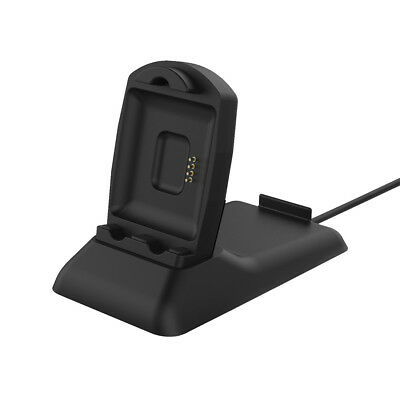 StrapsCo Fitbit Blaze Replacement Charger Stand with Built in Phone Holder