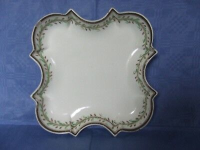 Antique creamware square dish possibly Wedgwood c1800
