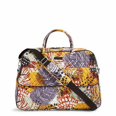 PAINTED FEATHERS Vera Bradley GRAND TRAVELER Carry-on Travel Luggage Overnight