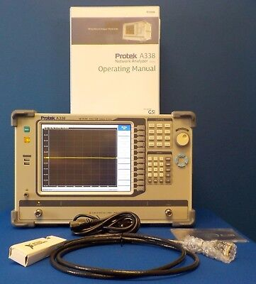 Protek A338 Network Analyzer,300kHz-8GHz,E5071A,E5071B, E5071C,E8358A, 2 Port
