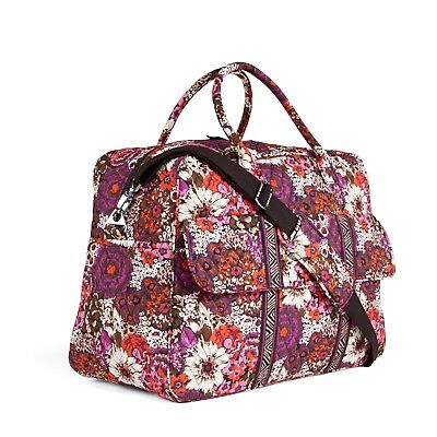 ROSEWOOD Vera Bradley GRAND TRAVELER Carry-on Travel Luggage Overnight