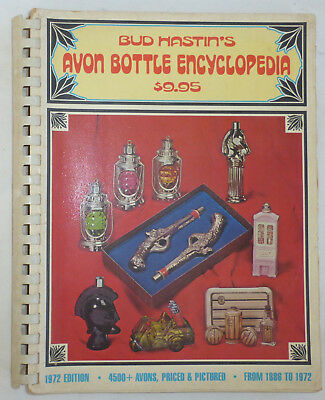 Vintage Book: Bud Hastin's AVON BOTTLE ENCYCLOPEDIA, 1972 Edition