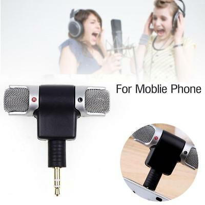 3.5mm Professional Mini Jack Recording Stereo Microphone Mic for Smart Phone New
