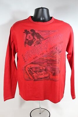 Vintage 1975 BRUCE SPRINGSTEEN Born To Run Tour Long Sleeve Shirt SIze Large