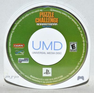 Puzzle Challenge: Crosswords and More (Sony PSP, 2006) Cartridge Only ~108~