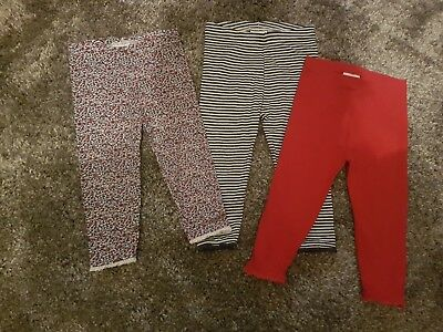 Next girls 3 pack of legging age 12-18 months