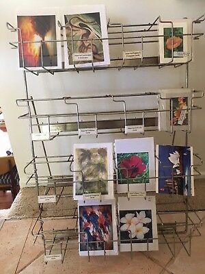 Greeting Card Rack Free Standing Smaller Table Top Craft Stall Art & Craft Fair