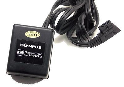 Original Olympus OM Electronic Flash AC Adapter 2 Made in Japan Used