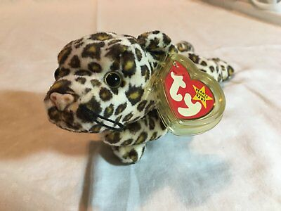 ONE OF A KIND ERROR Freckles original beanie baby - date of birth june 3 1996