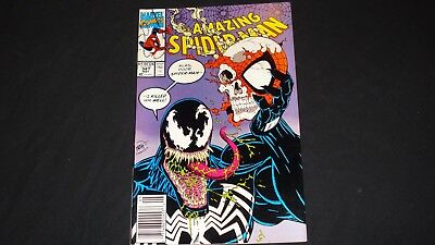 Marvel Comics The Amazing Spider-Man #347 Venom App