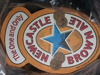 Lot of NEWCASTLE BROWN ALE Beer Coasters, New with plastic