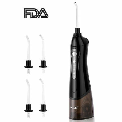 Water Flosser Oral Irrigator for Teeth and Braces Rechargeable Cordless Portable