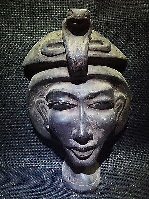 ANCIENT EGYPTIAN ANTIQUE Akhenaten Akhenaton Amenhotep IV MASK 2700–2185 BCE