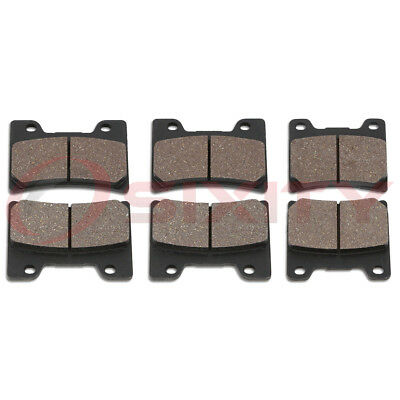 Front + Rear Ceramic Brake Pads 1993-2007 Yamaha VMX1200 V-Max Set Full Kit yf
