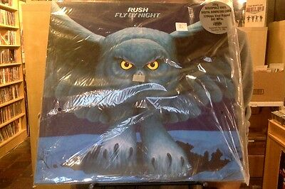 Rush Fly By Night LP sealed 200 gm vinyl + download RE reissue