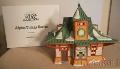 1990 Dept. 56 Alpine Village 5615-A - Bahnhof
