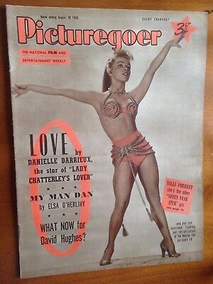 PICTUREGOER FILM MAGAZINE Aug 20 1955 Marilyn Monroe in The Seven Year Itch
