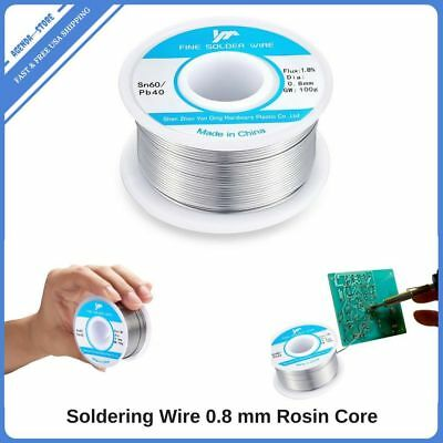 Silver Solder Wire Rosin Core 0.8mm Flux Electrical Repair Easy Melting Wires