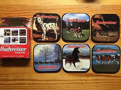 Budweiser metal  Collectibles Coasters