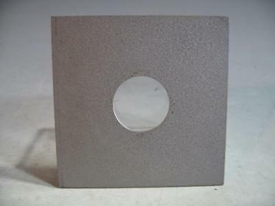 4 X 4 Metal Lens Board With A 33MM Opening For Most 4 X 5 View Cameras