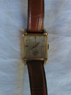 Vintage Helbros Art Deco style wrist watch.