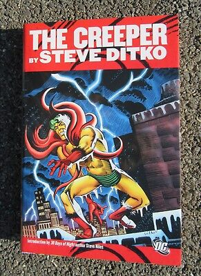 The Creeper by Steve Ditko DC Comics 2010 First Printing HC DJ Great Shape